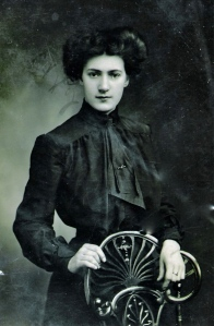 A young Ethel Probert,