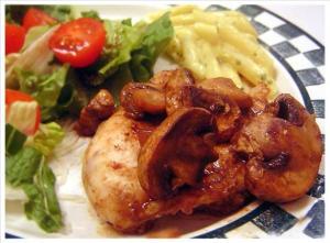 chicken mushroon