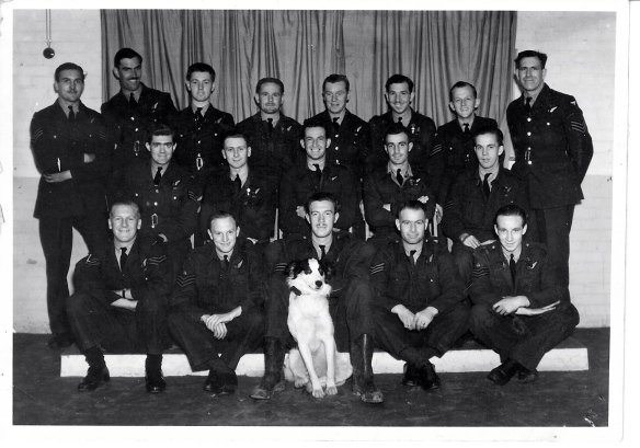 214 Flight Engineers. My father is seated 1st on left.
