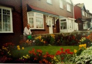 Front garden, 2000