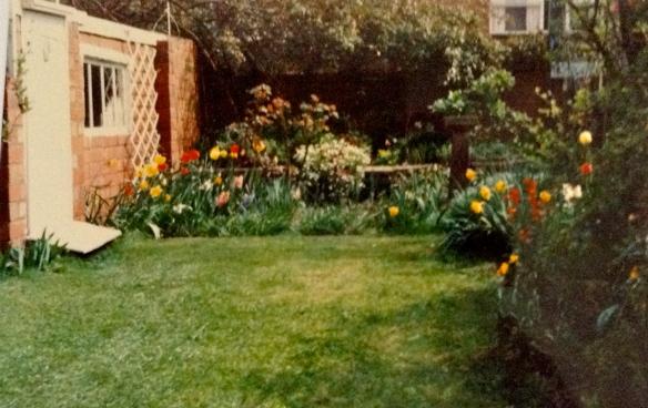 Back garden, 1990