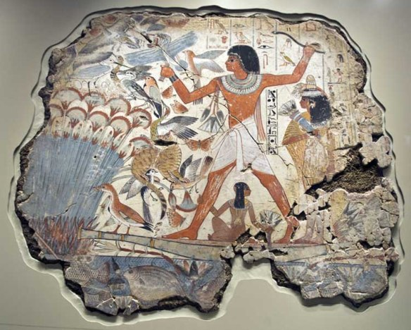 Nebamun and cat