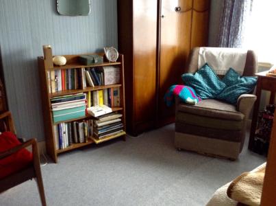 Dad's chair bedroom